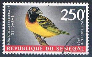 Senegal C55 Used Bird Village Weaver lr 1969 (S0822)+