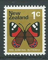 New Zealand SG 1008  Booklet? unwatermarked paper