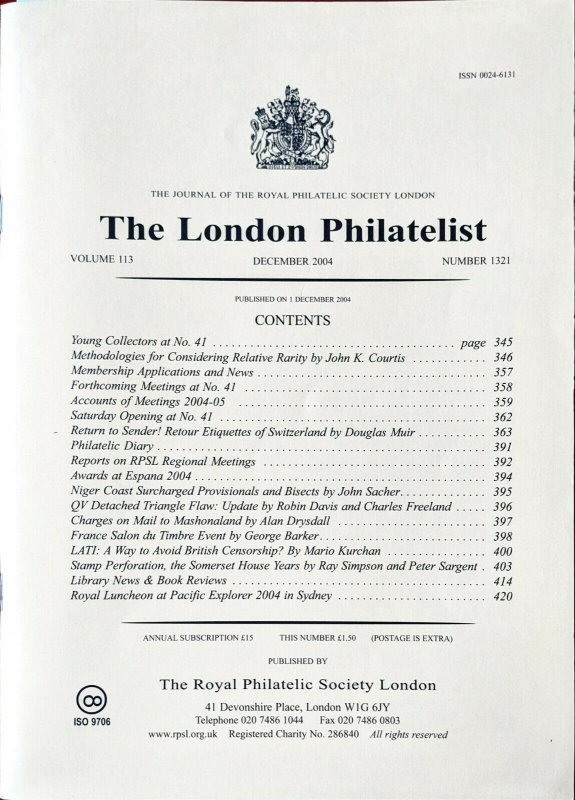 STAMP PERFORATION:THE SOMERSET HOUSE YEARS 1848-80 Stamp Production