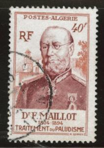 ALGERIA Scott 251 Maillot stamp 1954