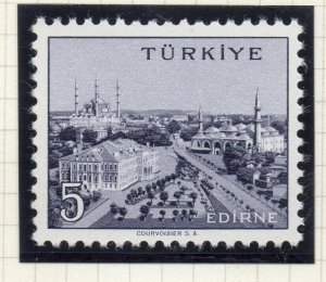 Turkey 1958-60 Early Issue Fine Mint Hinged 5p. NW-17521