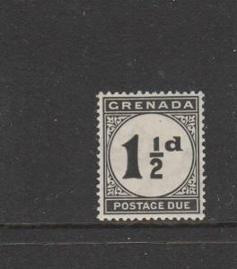 Grenada Postage Due 1921/2   1 1/2d MM SG D12