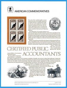 USPS COMMEMORATIVE PANEL #305 CPAS #2361