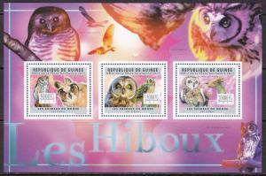 Guinea, Fauna, Birds, Owls MNH / 2011