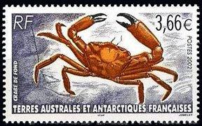Scott #308 Crab MNH