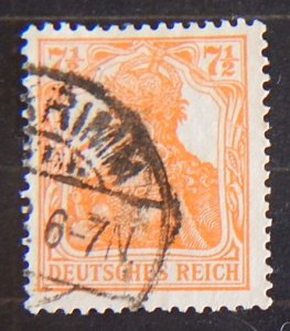 Germany, Reich, 1916-1919, SC #98fA22, (2260-T)