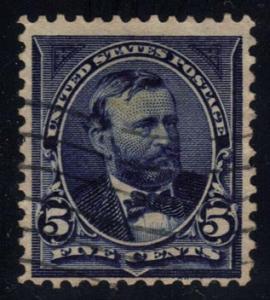 US #281 Ulysses S. Grant; Used (2.25) (3Stars)