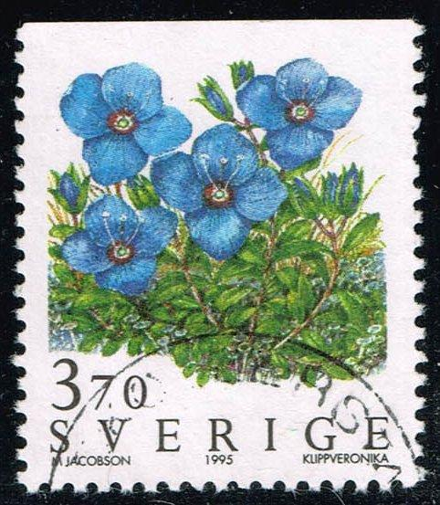 Sweden #2121 Rock Speedwell; Used (0.45)
