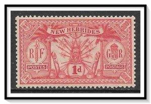 New Hebrides - British #33 Native Idols MH