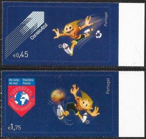 Portugal 2605-2606 MNH - Mascot of 2004 European Soccer Championships