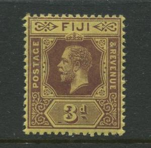 Fiji - Scott 84 - KGV Definitive Issue - 1912 - MLH - Single 3d Stamp