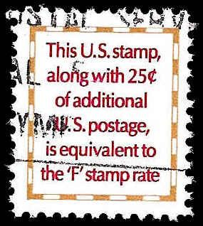 # 2521 USED MAKE-UP STAMP