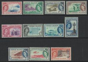 Cayman Islands Scott 135-145 MNH!