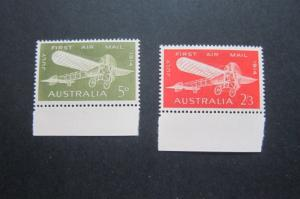Australia 1964 Sc 382-83 set MH