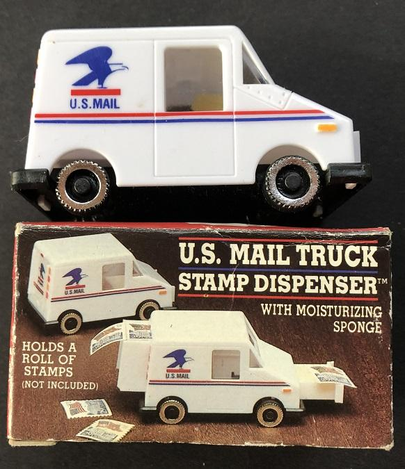 US Mail Truck Coil Stamp Dispenser circa 1992 New in Box