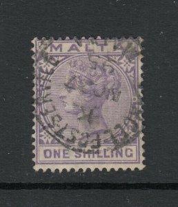 Malta Sc 13 (SG 18), used