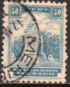 MEXICO 847 30¢ 1934 Definitive Wmk Gobierno...279 Used. VF. (1020)