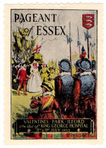 (I.B) Cinderella Collection : Pageant of Essex (Ilford 1932)