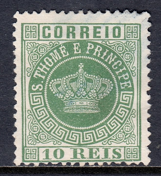 St. Thomas and Prince Islands - Scott #10a - Used - SCV $6.00