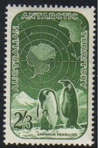 Australian Antarctic Territory  #L5 mint single, Penguines