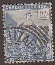 Cape of Good Hope 57 Hope Seated, [Square Circle] 1896