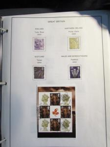 GB Regionals partial collection 12 pages ½ full 2002 2012