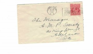 APH1478) Australia 1931 2d Red KGV Die I Small Cover