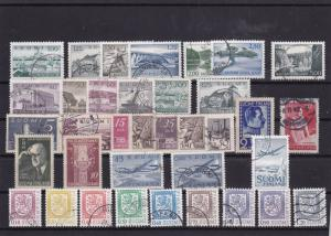 finland used  stamps   ref 7988A