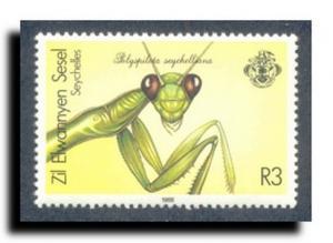 Seychelles-Zil Elwannyen Sesel Scott 141-144