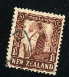 New Zealand  187  used  1935 PD