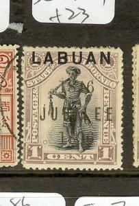 LABUAN  (P2907B) JUBILEE1C MAN  SG83  MOG
