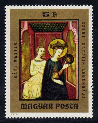 Hungary #2256 Legend of St. Catherine, MNH (0.60)