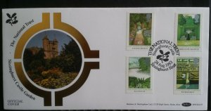 GB 1983 National Trust Sissinghurst Castle Handstamp  Benham Official Cover