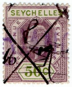 (I.B) Seychelles Revenue : Internal Revenue 50c