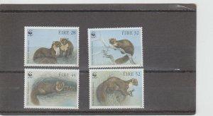 Ireland  Scott#  868-871  MNH  (1992 Pine Marten)