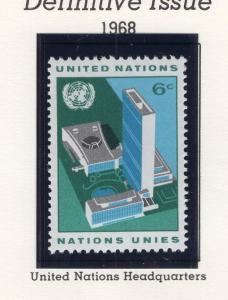 U. N. New York MNH Scott Cat. # 187