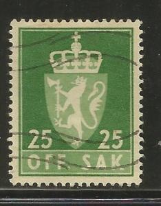 NORWAY, 69, U, LION GREEN