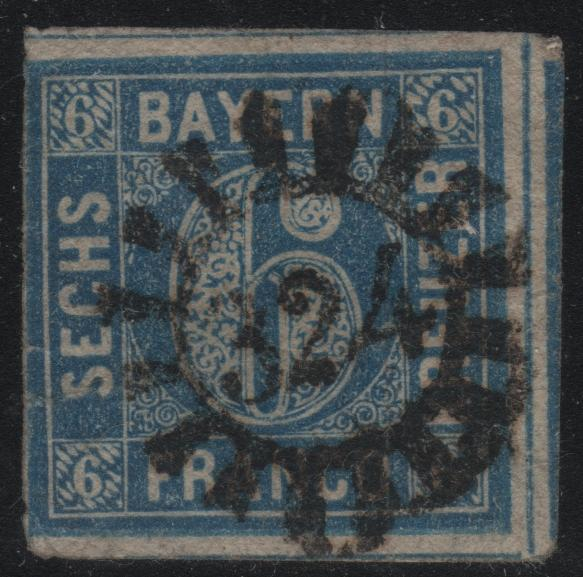 Bavaria 11 Numeral 324 Cancel