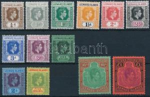 Leeward Islands stamp Definitive 13 stamps MNH 1938 WS233393