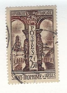France, 302, View of St. Trophime, Single, Used