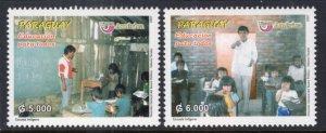 Paraguay 2851-2852 MNH VF