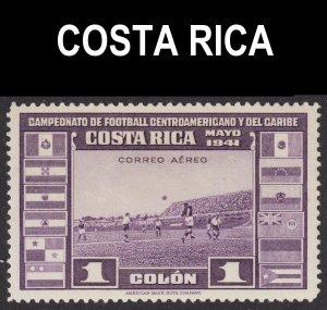 Costa Rica Scott C63 F to VF mint OG H.