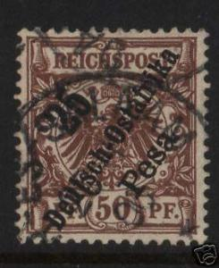 German East Africa #10 VF Used