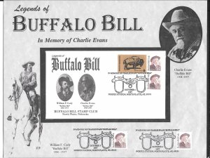 Just Fun Cover #2177 In Memory of Charlie Evans (Buffalo Bill) (my326)