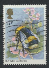 Great Britain SG 1277 - Used -Insects