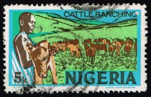 Nigeria #294 Cattle Ranching; Used (0.90)