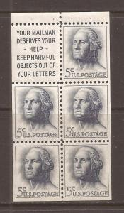 United States scott #1212a Booklet Pane m/nh stock #N4630