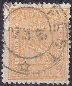 Norway #12  F-VF  Used CV $55.00 (Z6458)