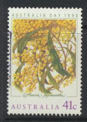 SG 1229  SC# 1163 Used  Australia Day Golden Wattle