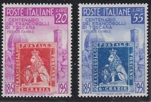 Italy 568-569 MNH (1951)
